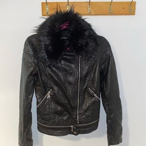 Express women's (not real leather) jacket Size XS